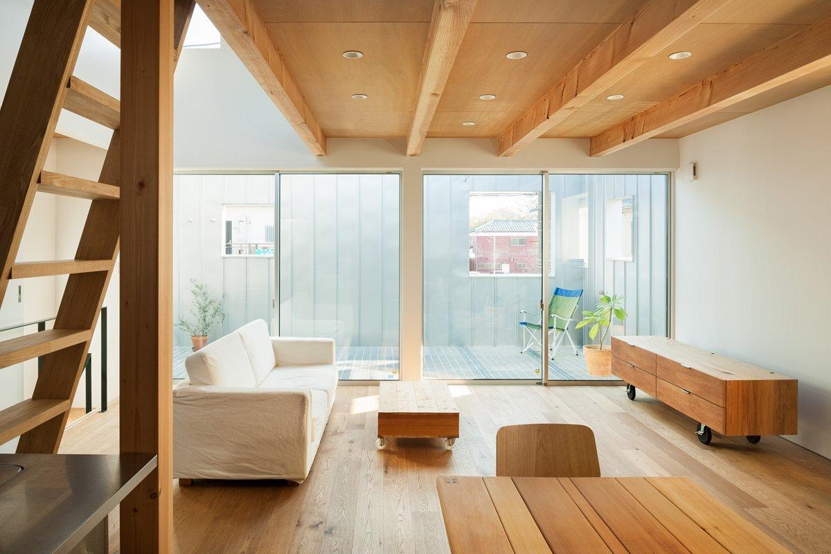 Small House in Chibi, Japan by Yuji Kimura Design