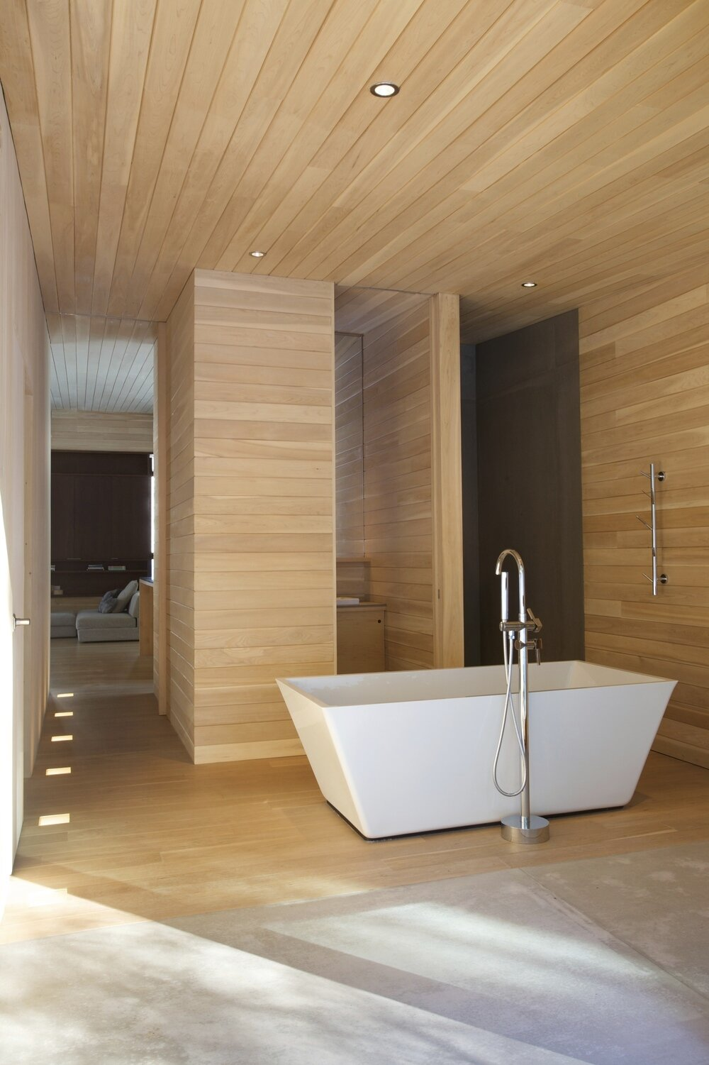 La Luge House by YH2 Architects - Quebec Canada - Bathroom - Humble Homes
