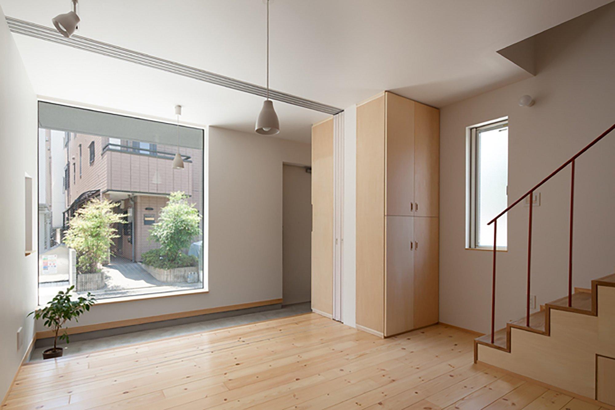 Nakano Fireproof Wooden House - Masashi Ogihara - Nakano, Japan - Small Japanese House - Entrance - Humble Homes