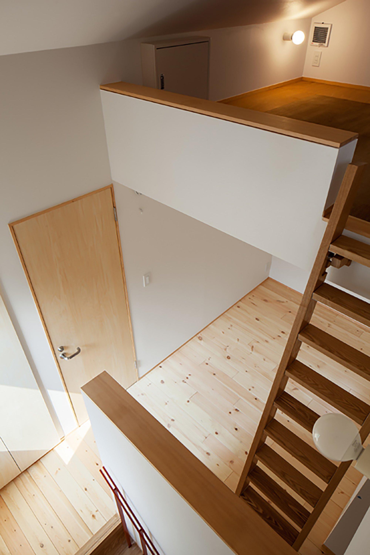 Nakano Fireproof Wooden House - Masashi Ogihara - Nakano, Japan - Small Japanese House - Interior Loft - Humble Homes