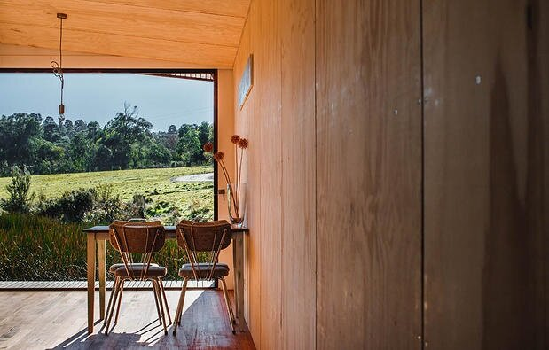 Pump House by Branch Studio Architects - Off-Grid House - Dining Room - Humble Homes