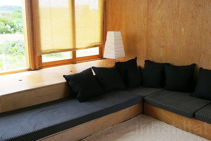 Rosario Talevi - Abierta Uruguay - Summerhouse - Selfbuild - Living Room - Humble Homes