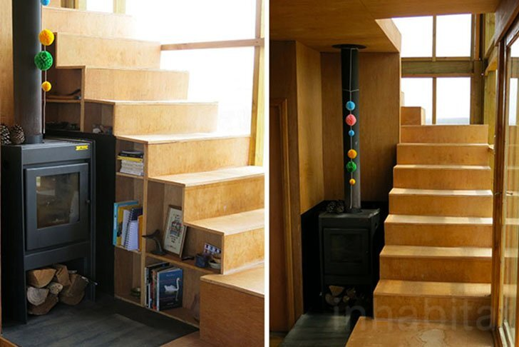 Rosario Talevi - Abierta Uruguay - Summerhouse - Selfbuild - Staircase - Humble Homes