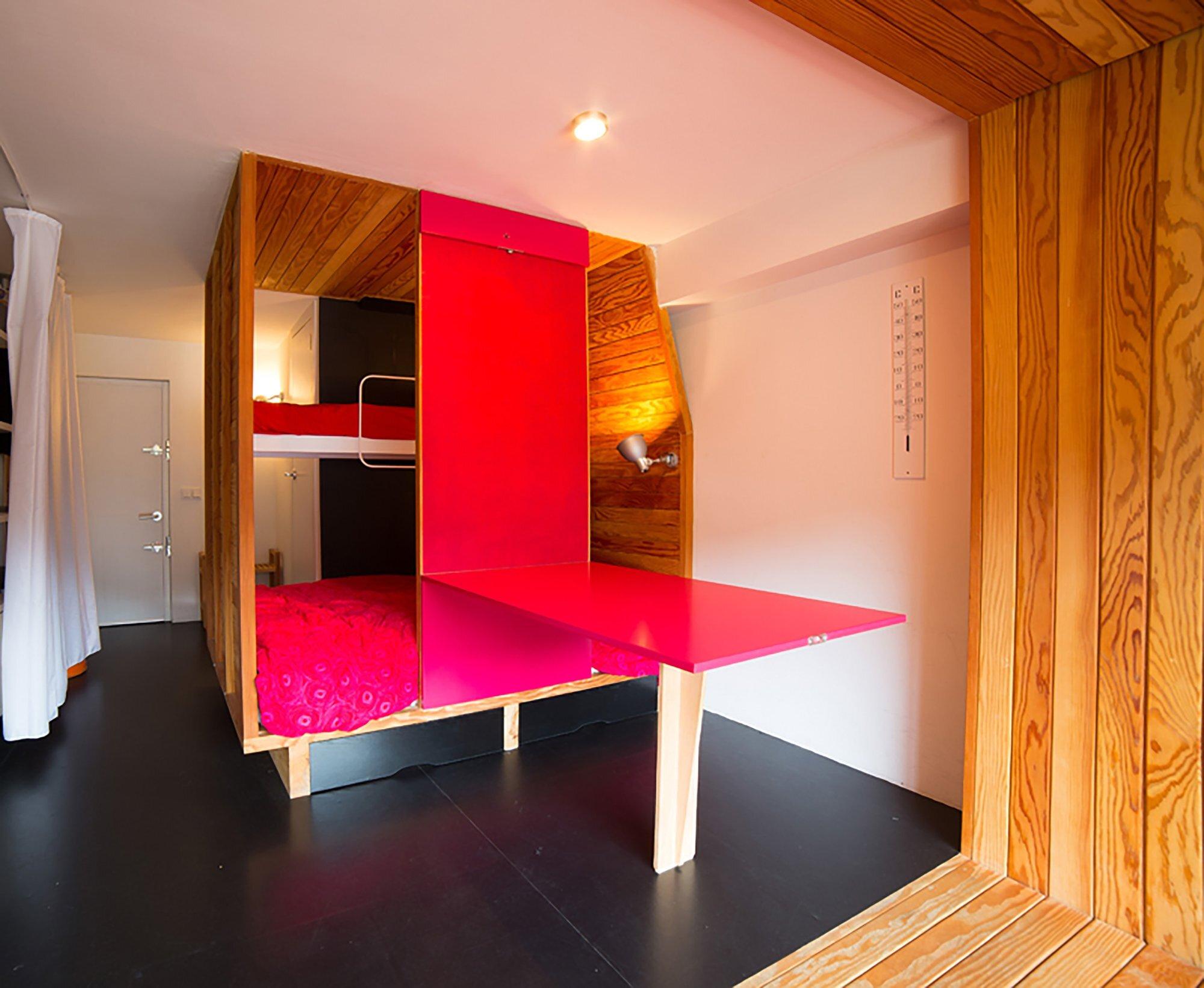 Studio in a Mountain Resort - Beriot Bernardini Arquitectos - Madrid Spain - Dining Table - Humble Homes