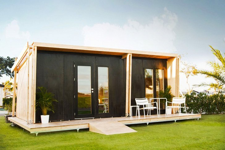 ViVood   Prefab House By Daniel Mayo Pardo   Spain   Tiny House   Exterior