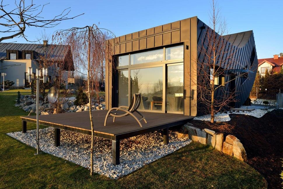 Domo Dom House - Krakow - Poland - Arciteckt Lemanski - Small House - Deck - Humble Homes