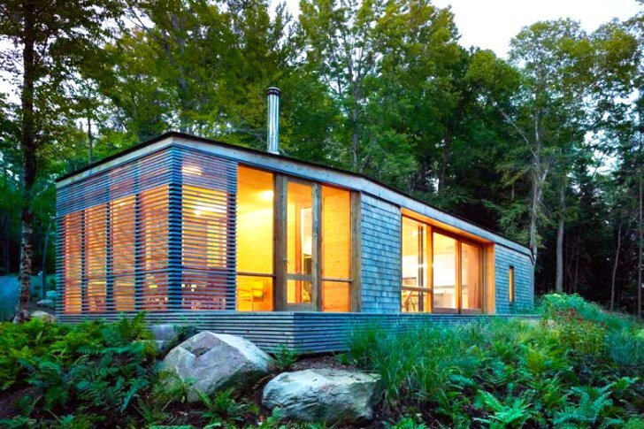 Stealth Cabin - Superkul - Ontario - Canada - Small House - Exterior - Humble Homes