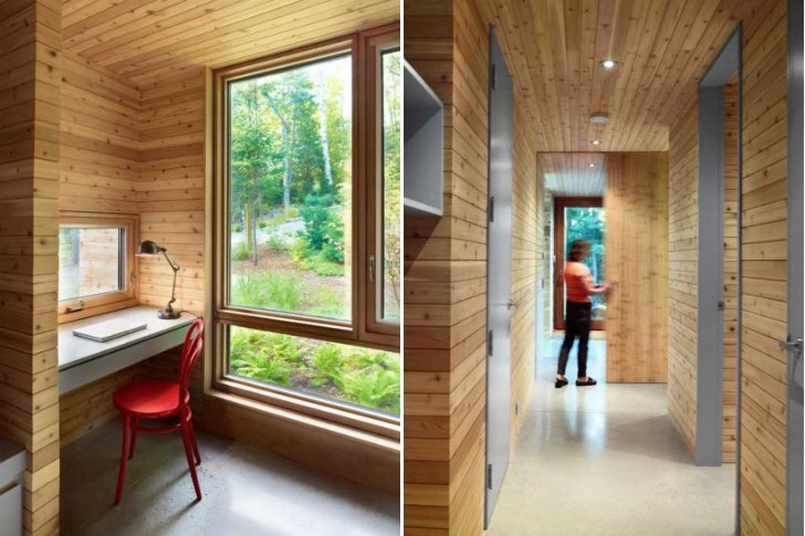 Stealth Cabin - Superkul - Ontario - Canada - Small House - Study - Humble Homes