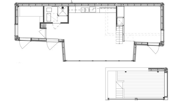 The Wood House - Schlyter + Gezelius Arkitektkontor - Small House - Sweden - Floor Plan - Humble Homes