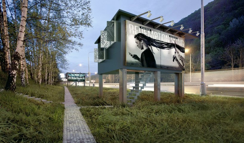 DesignDevelop - Gregory Project - Billboard Houses - Homeless Housing - Exterior - Humble Homes