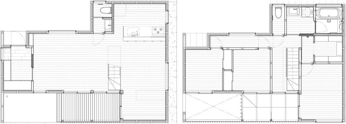 House K - Yuji Kimura Design - Tokyo - Japan - Small House - Floor Plan - Humble Homes