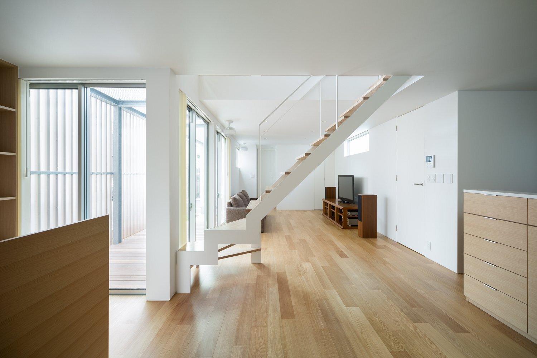 House K - Yuji Kimura Design - Tokyo - Japan - Small House - Living Room - Humble Homes