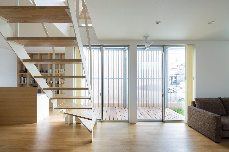 House K - Yuji Kimura Design - Tokyo - Japan - Small House - Staircase - Humble Homes