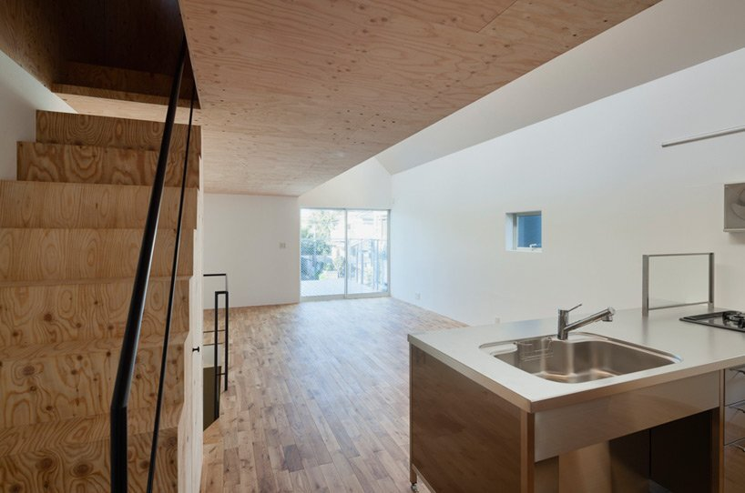 Pointed GEH House by I.R.A. - International Royal Architecture - Tokyo - Japan - Small House - Kitchen - Humble Homes