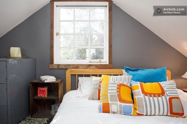 Rustic Tiny House - Portland - AirBnB - Sleeping Loft - Humble Homes