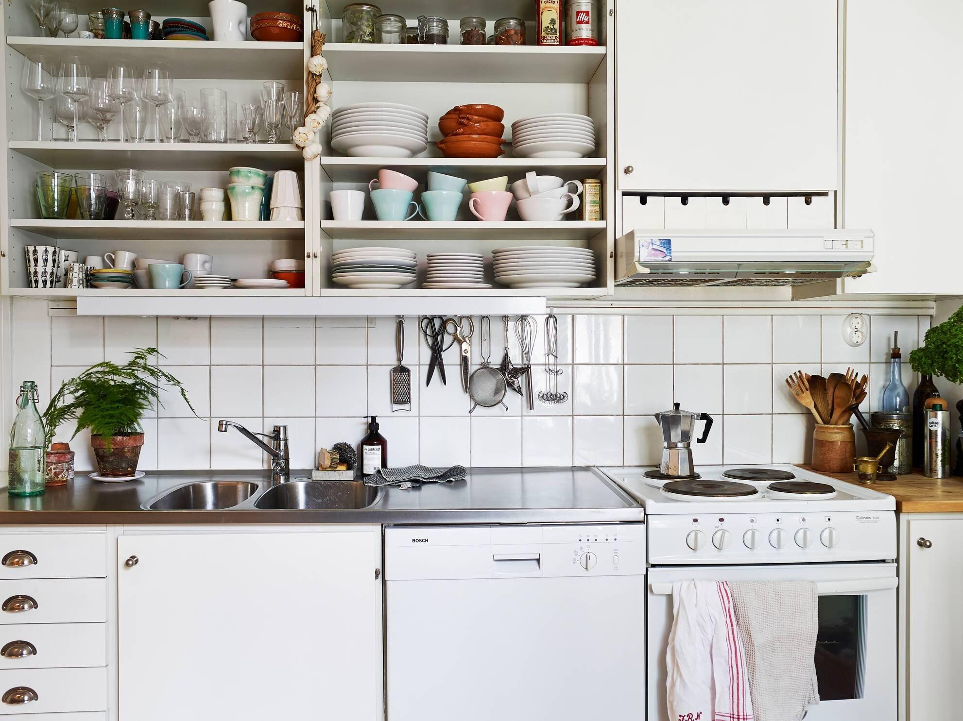 Small Apartment - Goteburg - Sweden - Stadhem - Kitchen  - Humble Homes