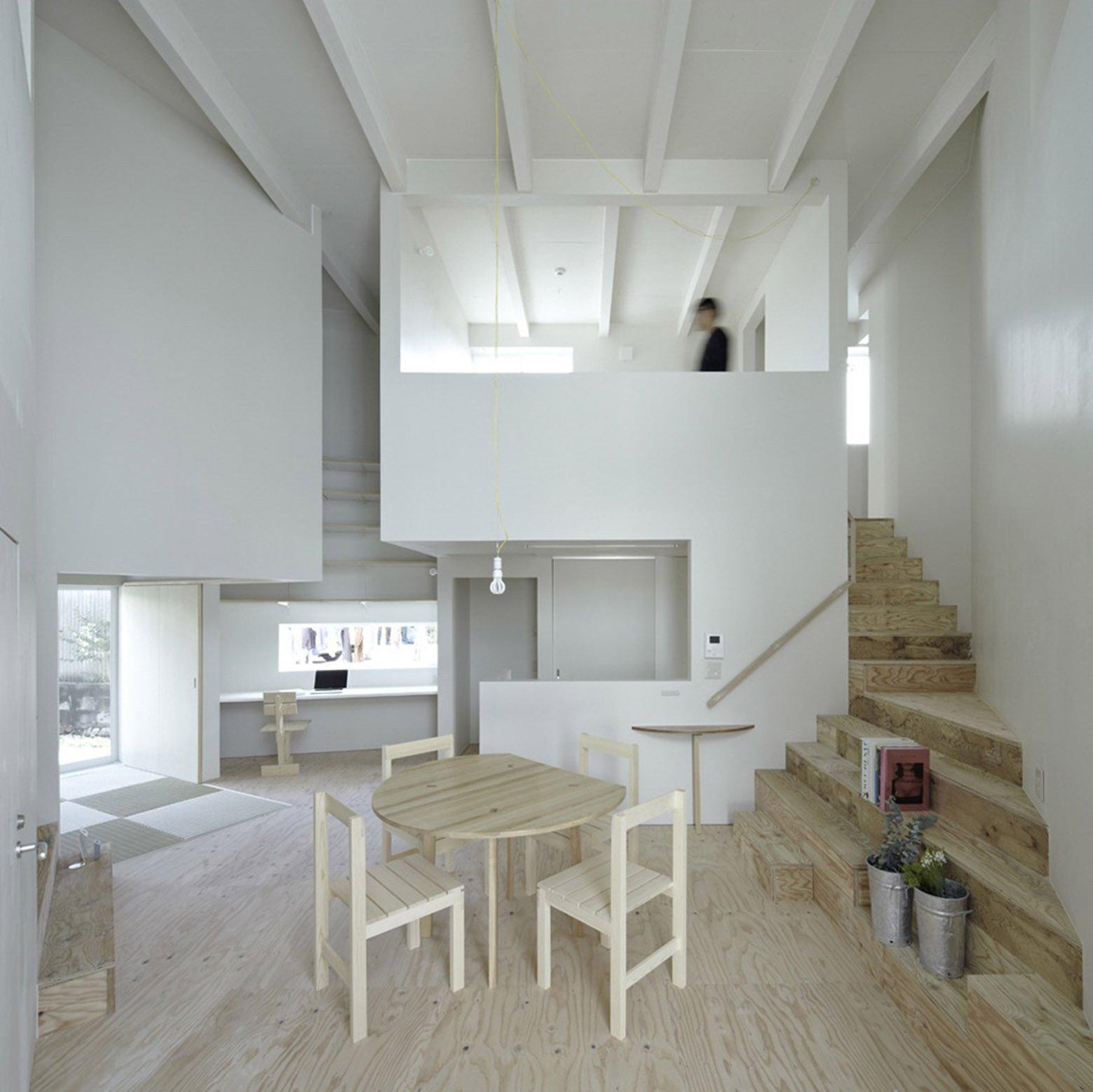 House In Iizuka - Japanese House - Rhythmdesign - Living Area - Humble Homes