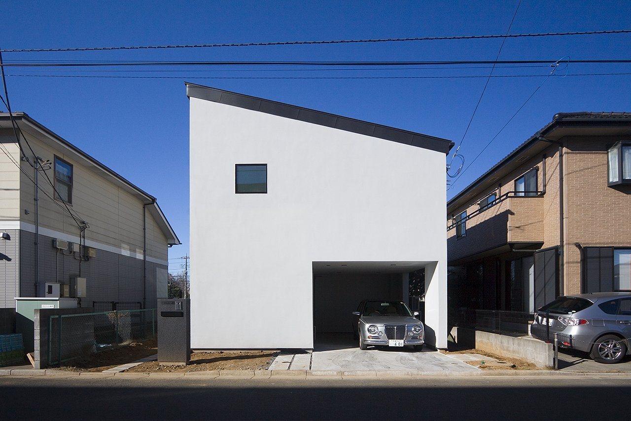 House in Musashisakai - Small House - Upsetters Architects - Tokyo - Japan - Exterior - Humble Homes