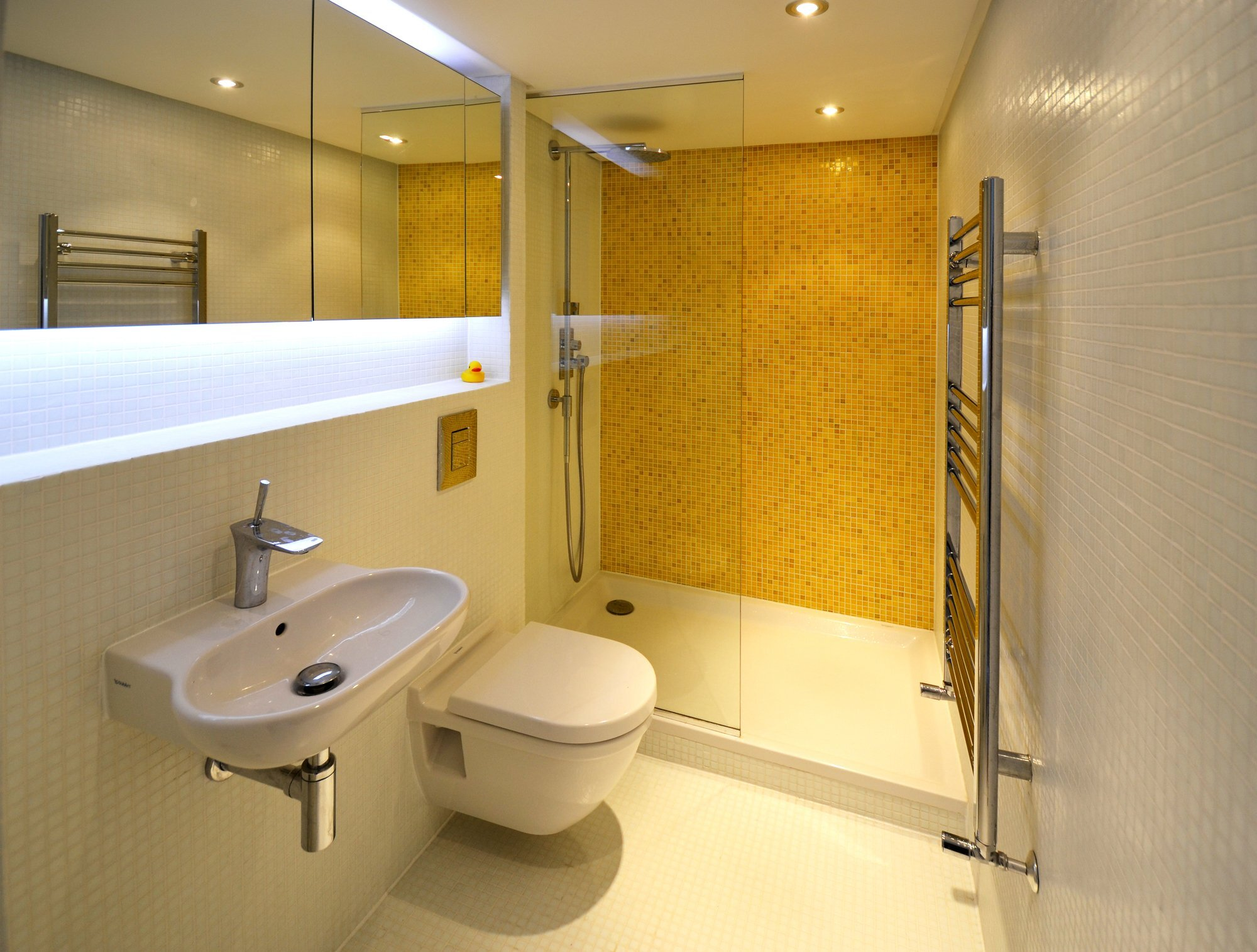 Loft Space - Craft Design - London - Camden - Tiny Apartment - Bathroom - Humble Homes