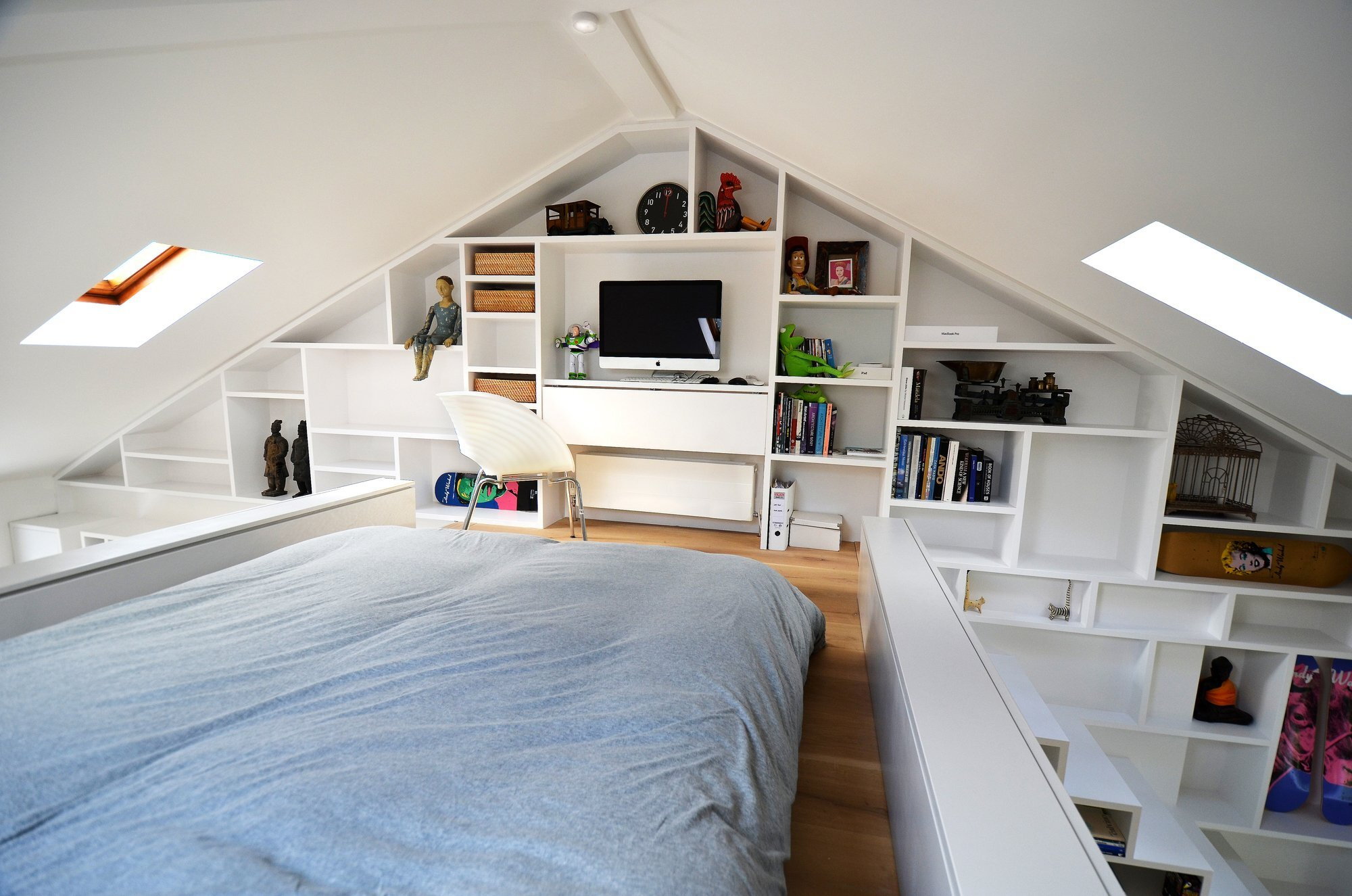 Loft Space   Craft Design   London   Camden   Tiny Apartment   Bedroom    Humble