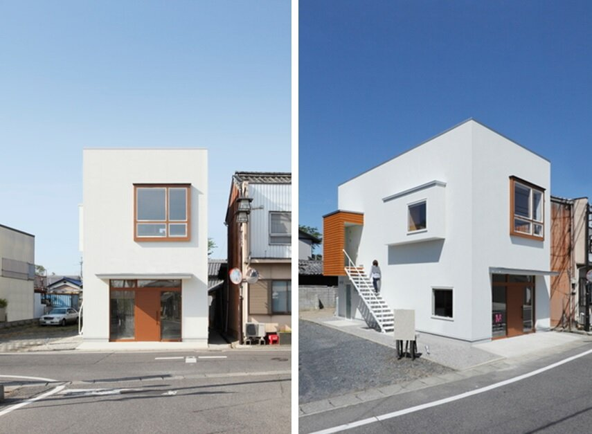 Exceptionnel Higashihayashiguchi   Shop U0026 Apartment   ALTS Design Office   Exterior    Humble Homes
