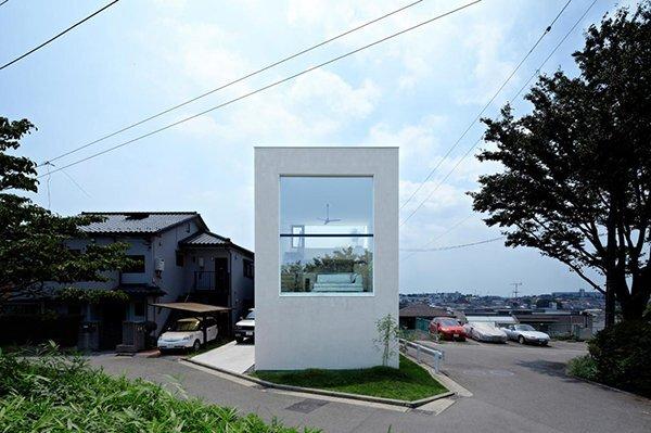 Hiyoshi House - Japanese House - EANA - Japan - Exterior - Humble Homes