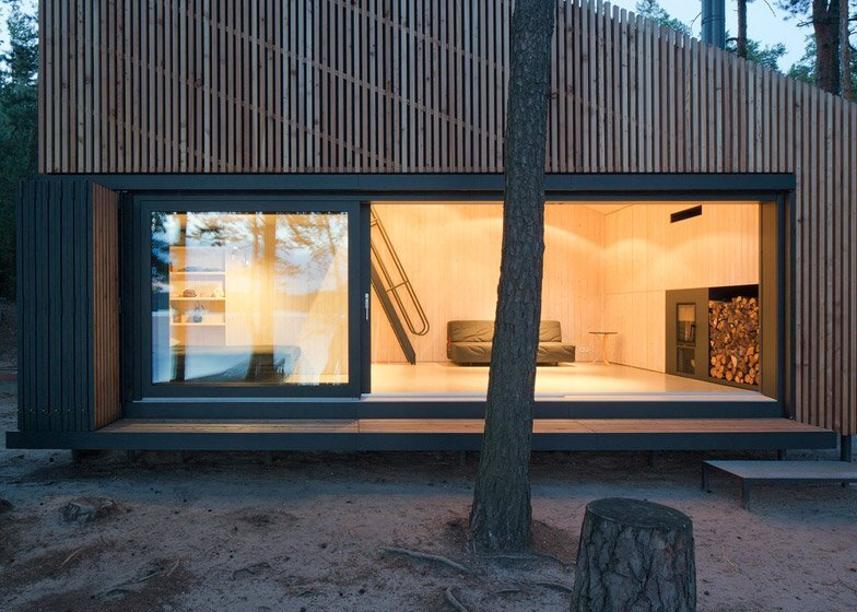 Lake Cabin - FAM Architekti - Czech Republic - Exterior - Humble Homes