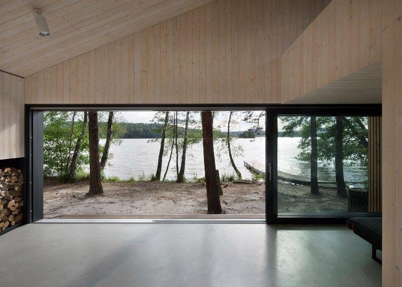 Lake Cabin - FAM Architekti - Czech Republic - Interior - Humble Homes