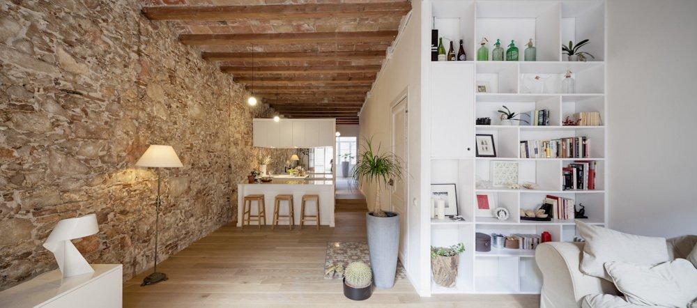 Les Corts - Apartment Renovation - Sergi Pons - Barcelona - Spain - Living Room - Humble Homes