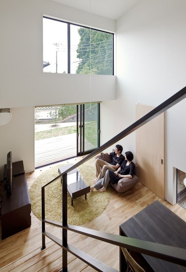 Niu House - Japanese House - Yashihiro Yahomoto Architect Atelier - Nara - Japan - Living Room - Humble Homes