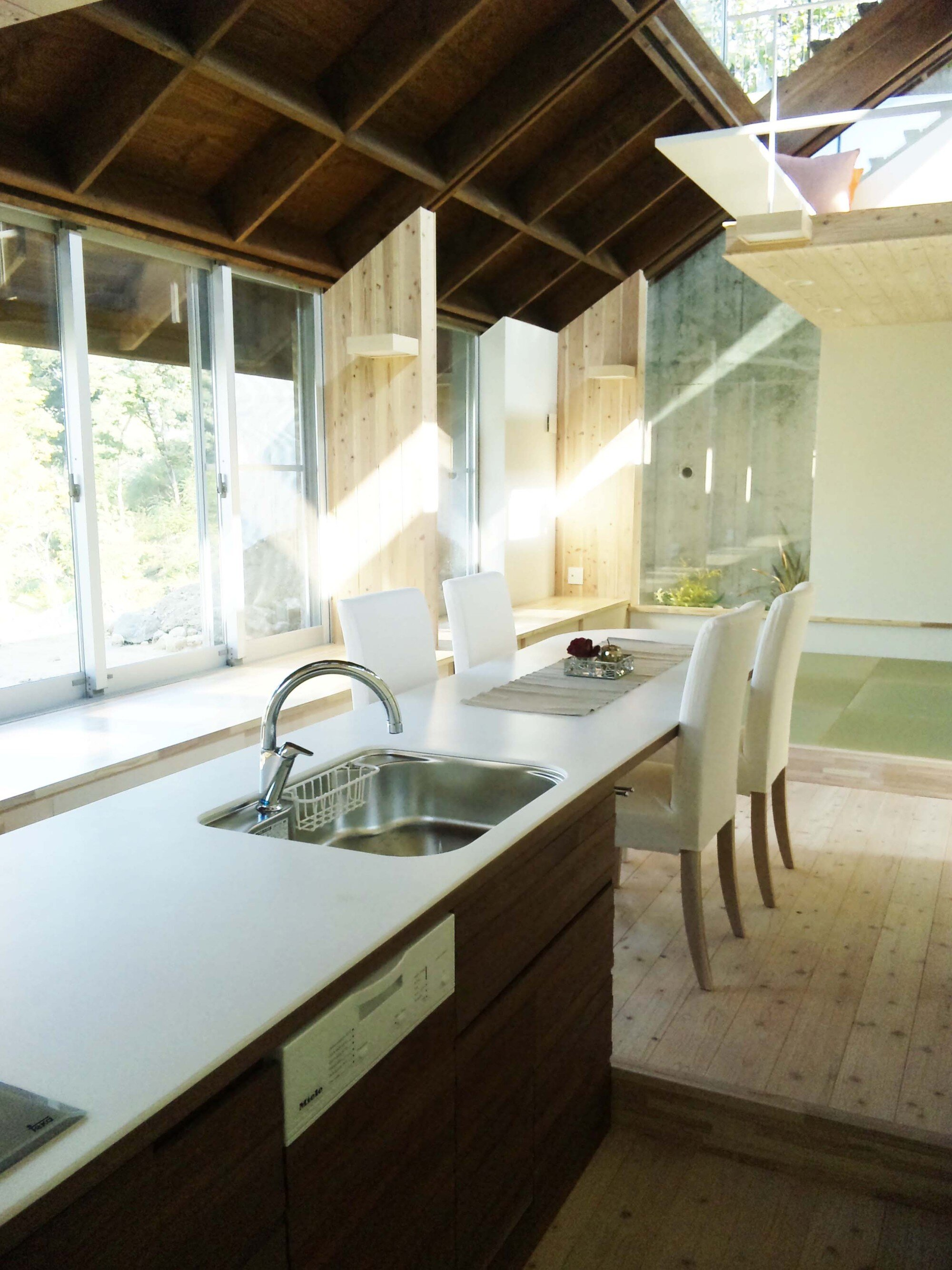 North Garden House - Small House - y+M - Tokushima Japan - Dining Area - Humble Homes