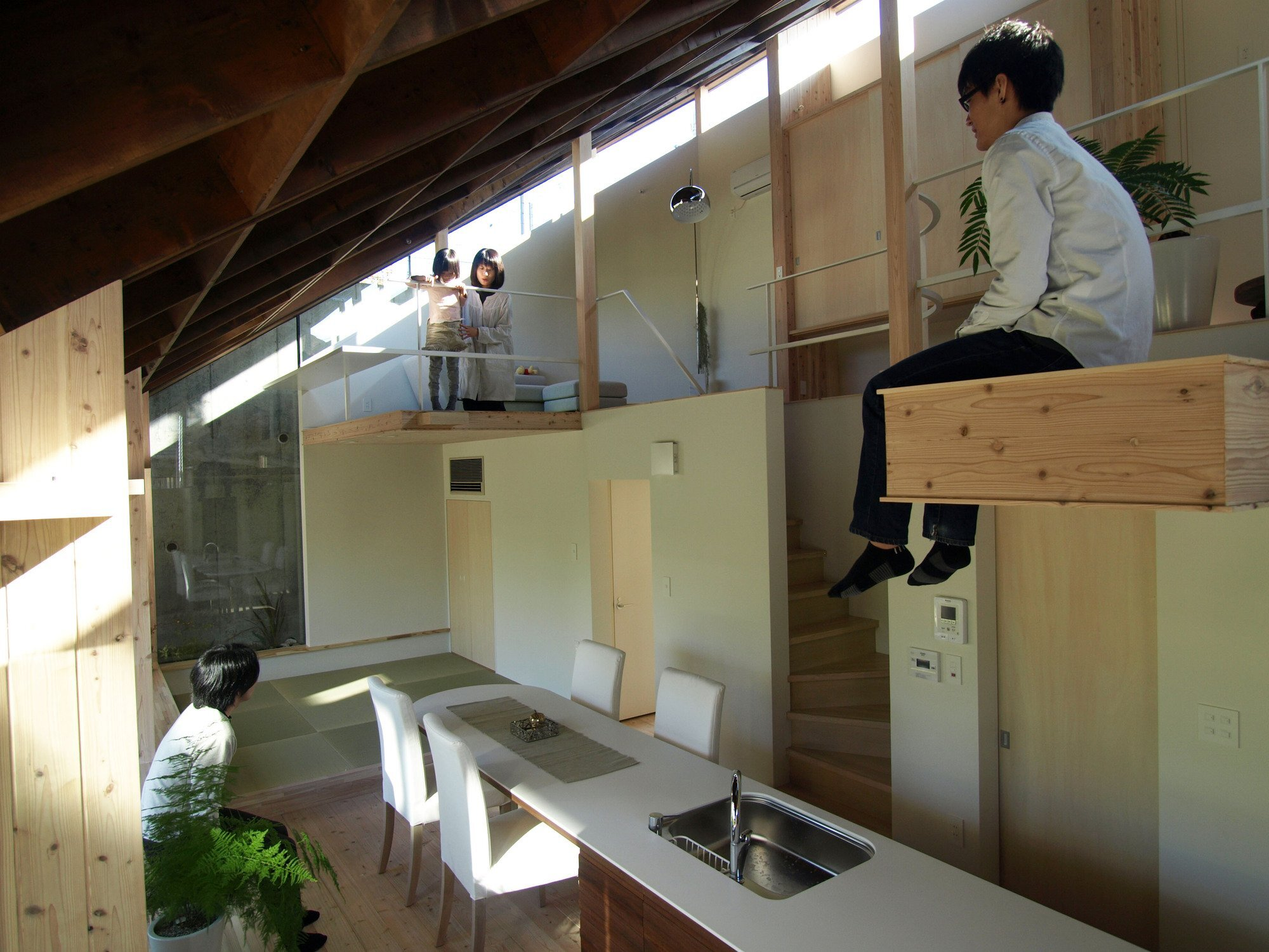 North Garden House - Small House - y+M - Tokushima Japan - Living Area - Humble Homes