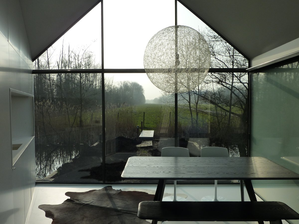 Recreational Island Home - Small House - 2by4-architects - Bruekelen - Dining Room - Humble Homes