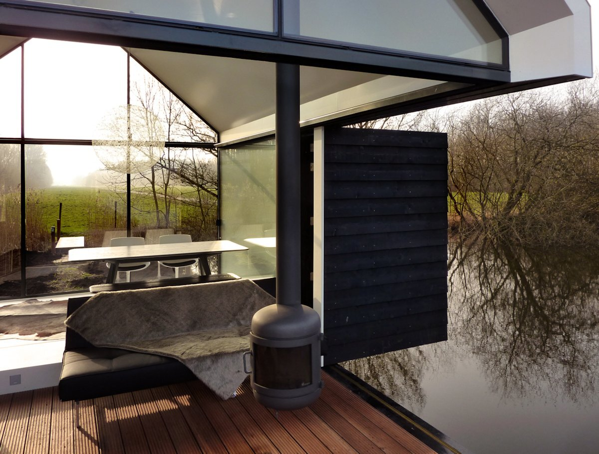 Recreational Island Home - Small House - 2by4-architects - Bruekelen - Living Room - Humble Homes