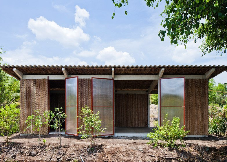 Affordable Housing - S House - Vo Trong Nghia Architects - Vietnam - Exterior - Humble Homes
