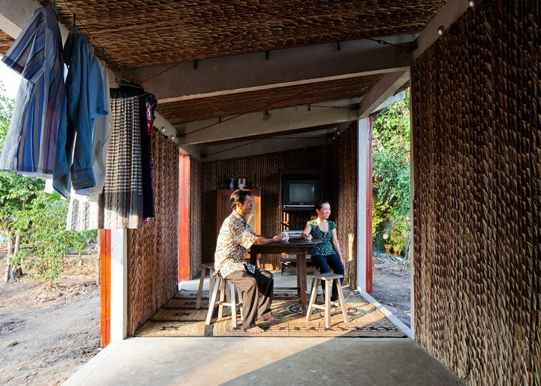 Affordable Housing - S House - Vo Trong Nghia Architects - Vietnam - Living Area - Humble Homes