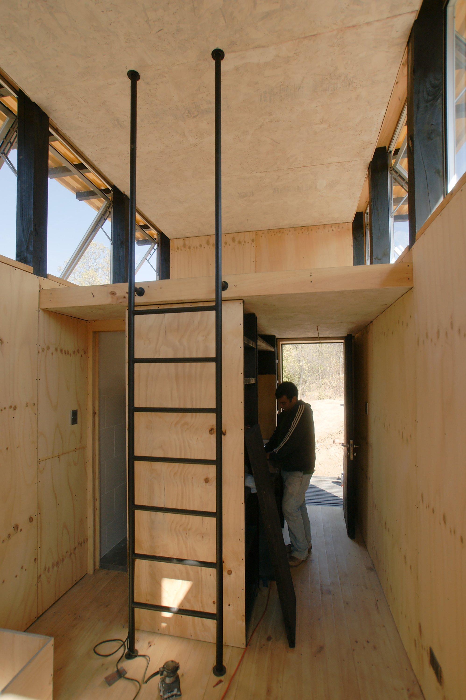 Gentil Charred Cabin   Nicolas Del Rio   Chile   Loft Ladders   Humble Homes
