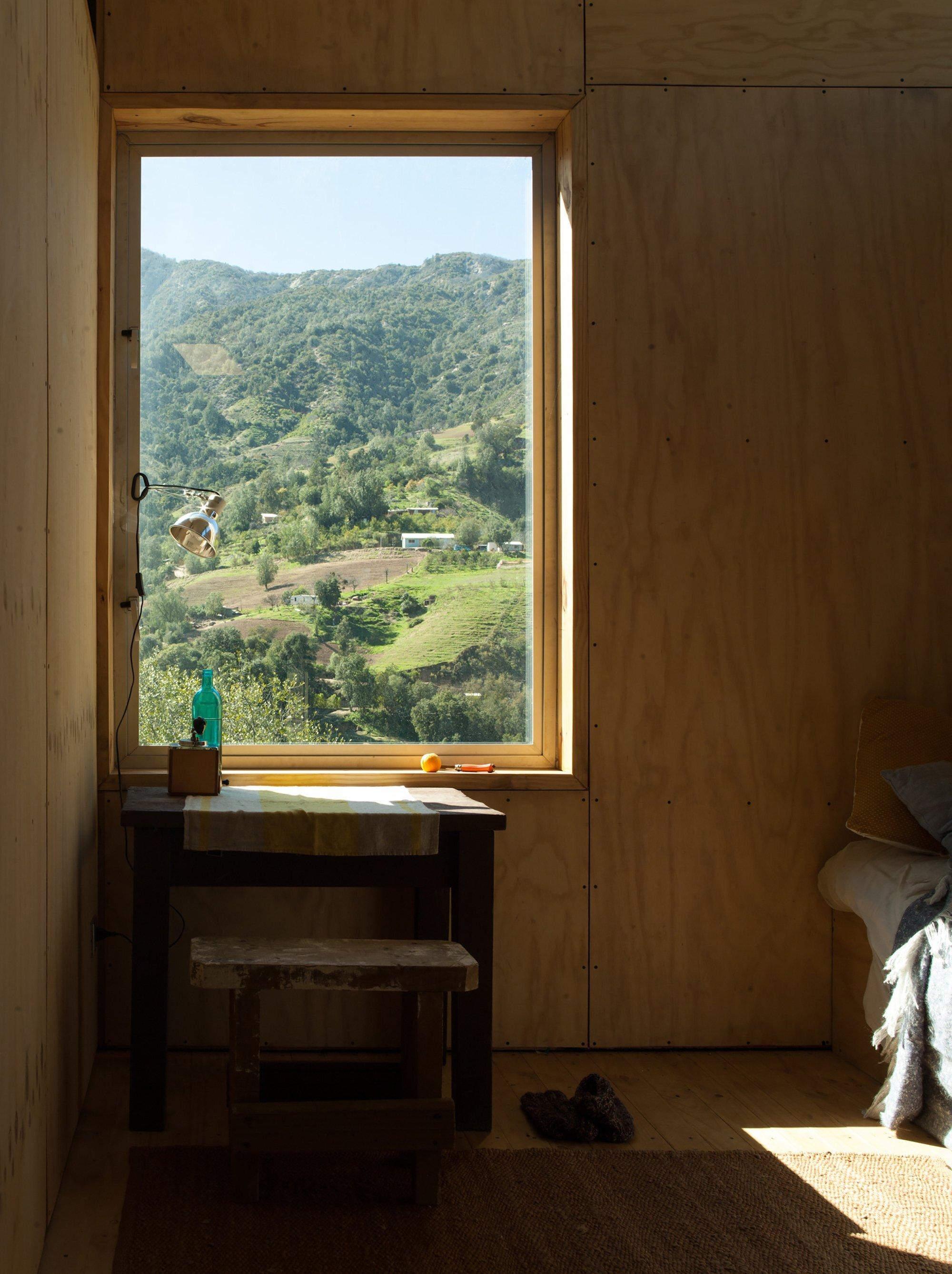 Charred Cabin - Nicolas del Rio - Chile - Window View - Humble Homes