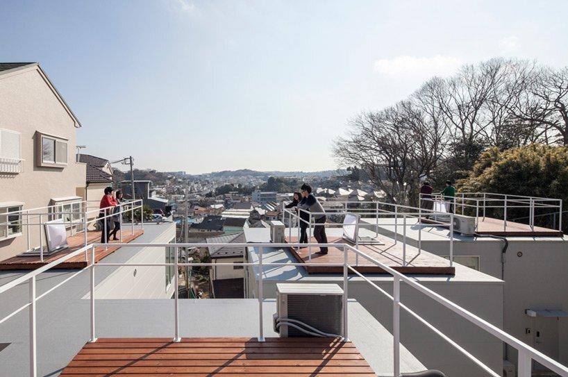 Isogo House - Japanese House - Be-Fun Design - Tsuyoshi Shindo - Roof Deck - Humble Homes