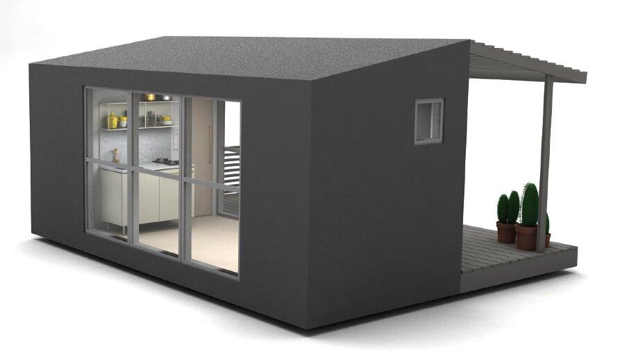 Mini House 2.0 - Tiny House - Jonas Wagell - Sweden - Back - Humble Homes