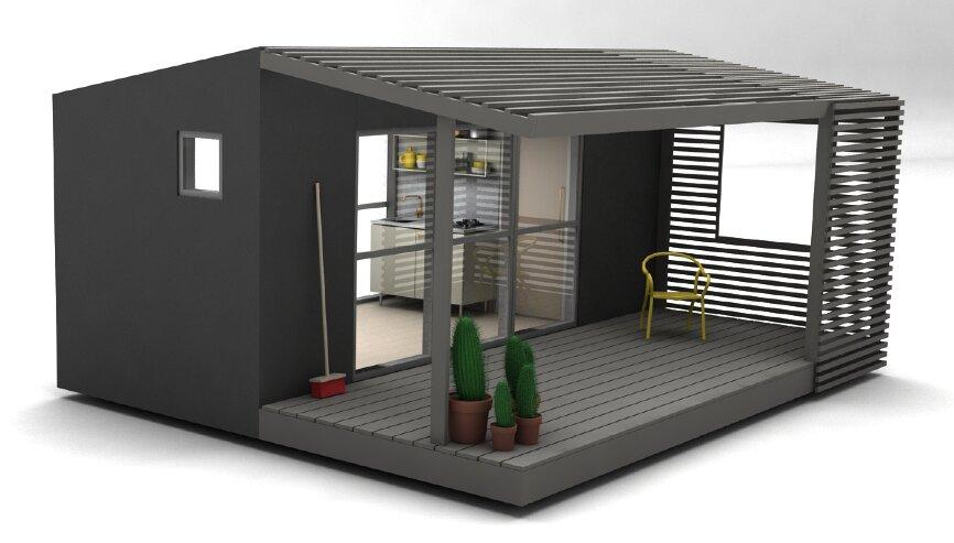 Mini House 2.0 - Tiny House - Jonas Wagell - Sweden - Exterior - Humble Homes
