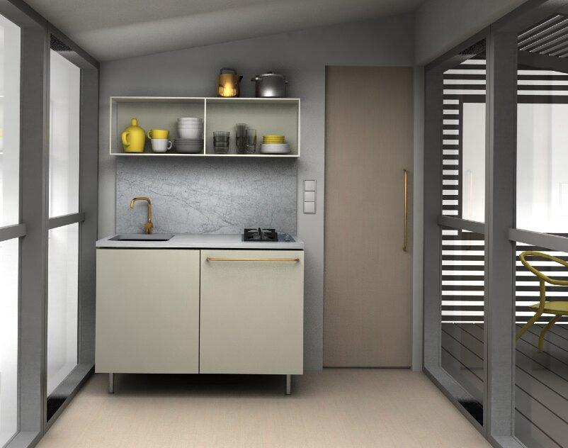 Mini House 2.0 - Tiny House - Jonas Wagell - Sweden - Kitchen - Humble Homes