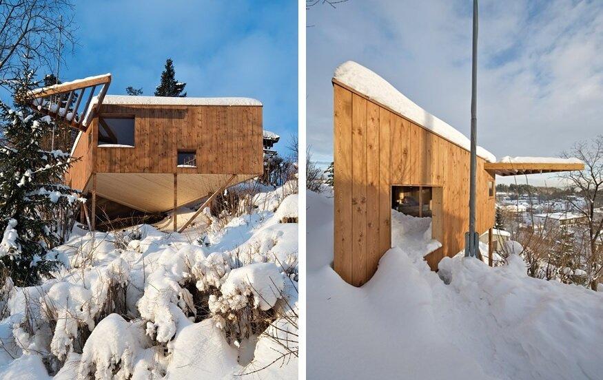 Writers Cabin - Jarmund Vigsnæs Arkitekter - Asker Norway - Exterior - Humble Homes