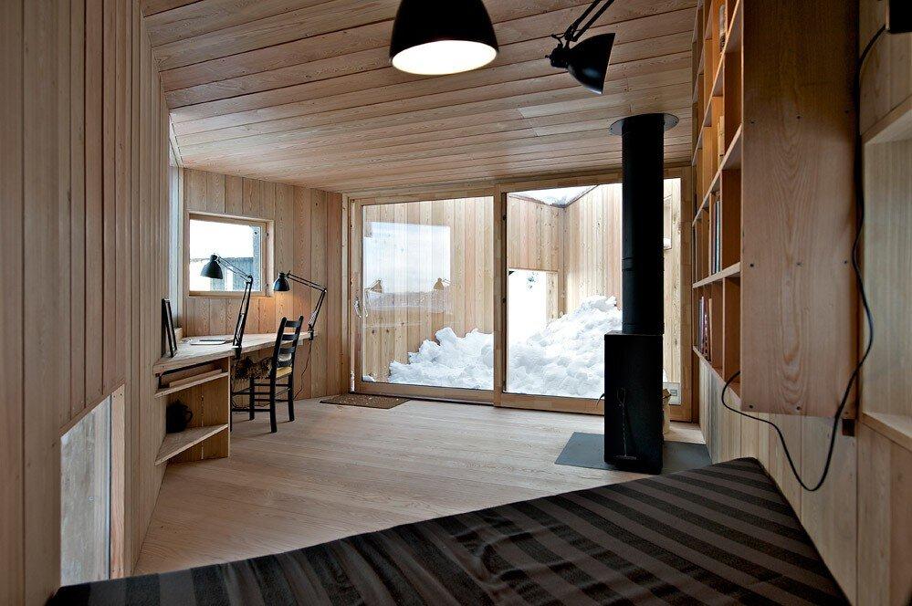 Writers Cabin - Jarmund Vigsnæs Arkitekter - Asker Norway - Living Area 2 - Humble Homes
