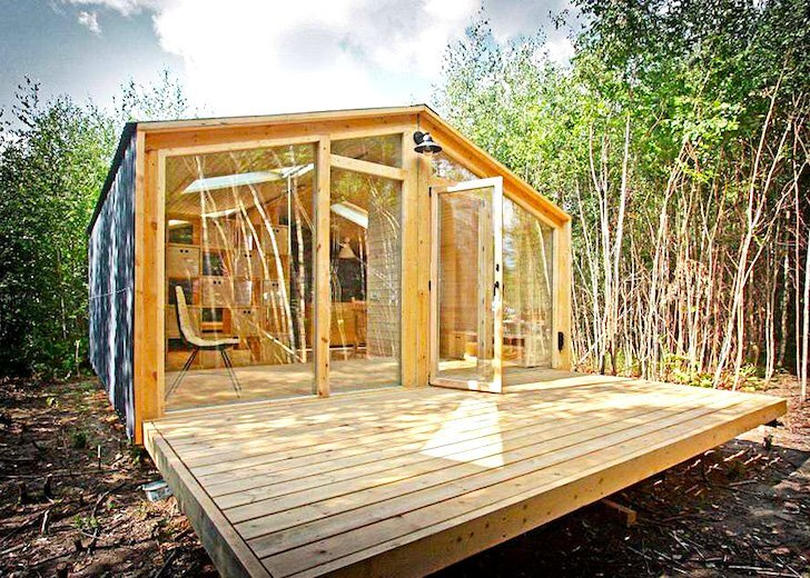DublDom - A Prefab House by BIO Architects