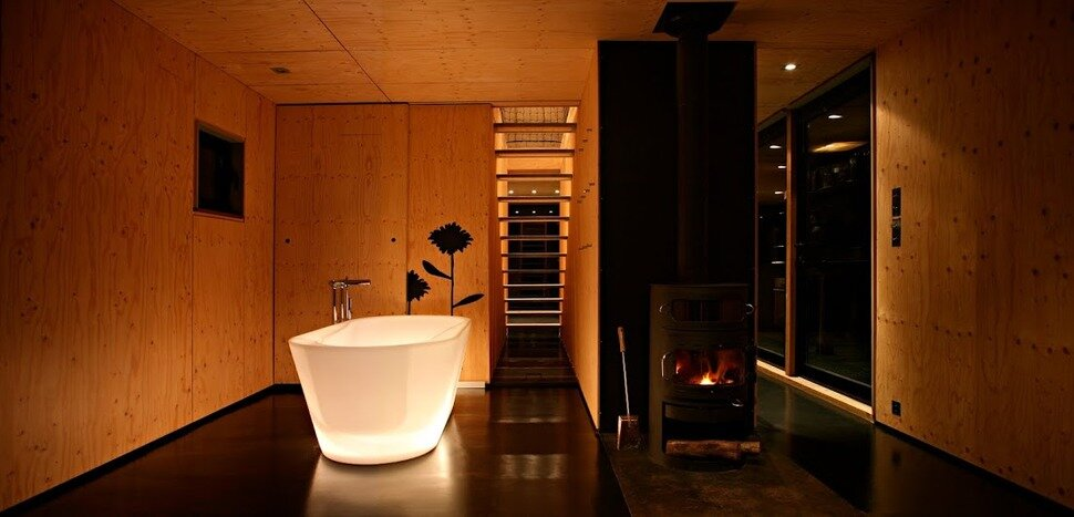 F House - Weekend Cabin - Lode Architecture - Normandie France - Bathroom - Humble Homes