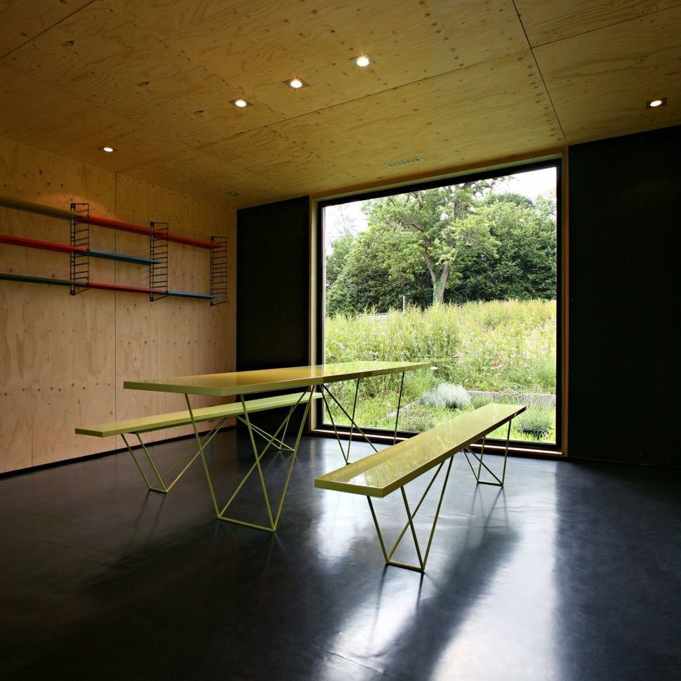 F House - Weekend Cabin - Lode Architecture - Normandie France - Dining - Humble Homes