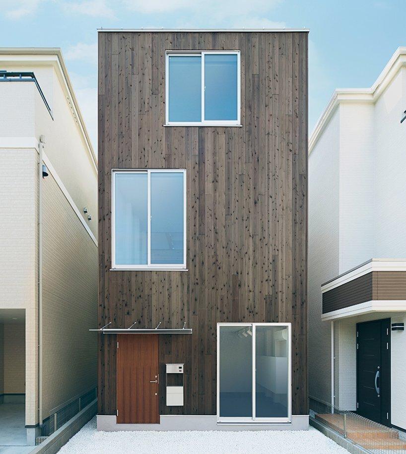 House of Vertical - Japanese House - Muji - Tokyo - Exterior - Humble Homes