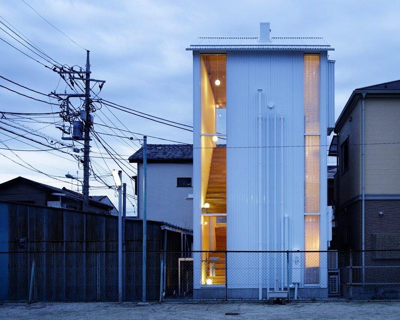 Takahashi Maki - Small House - Shiokami Daisuke - White Hut - Japan - Exterior - Humble Homes