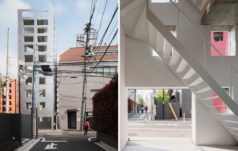 Yamate Street House - Unemori Architects - Tokyo - Entrance - Humble Homes